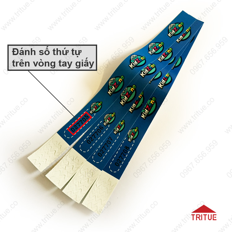 Vòng tay bằng giấy Jupo giá rẻ