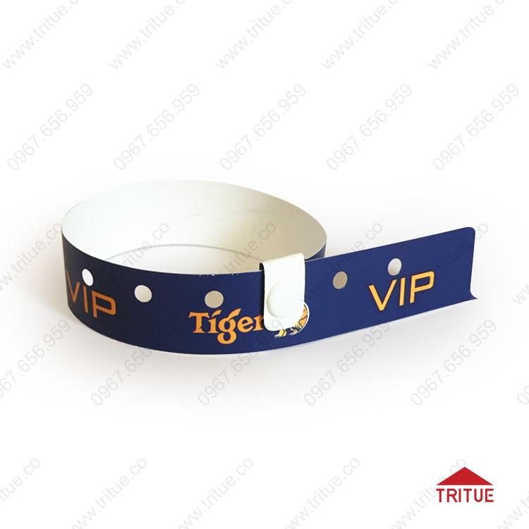 Vòng tay cúc bấm bằng nhựa Tiger VIP